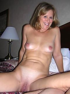 Mature Female natural tits