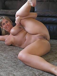 Bound in grey pantyhose