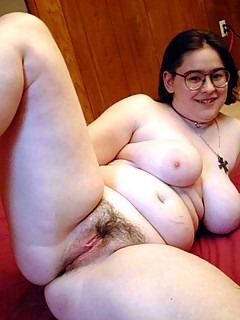 Naked chubby hairy women