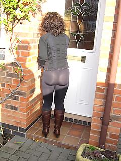 Ex wife sexy pics spandex ass