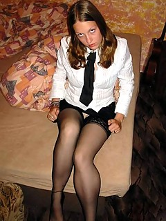 Excellent young amateur girls in pantyhose seems me, you