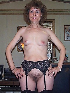 Hairy amateur granny pic
