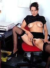 Secretary in Stockings photo 4