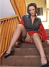 Secretary in Stockings photo 5