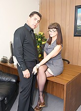 Secretary in Stockings photo 6